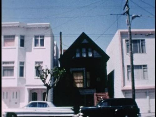"""""""The Black House is a building that formerly stood at 6114 California St. in San Francisco, California, in the United States. The house was used by Anton LaVey as the headquarters of his Church of Satan from 1966 until his death in 1997. LaVey conducted Satanic seminars and rituals at the house; one of the most notorious such rituals was the Satanic baptism of his daughter Zeena Schreck in 1967, punctuated by LaVey speaking the words """"Hail Satan!"""" over the nude body of a female acting as t"""