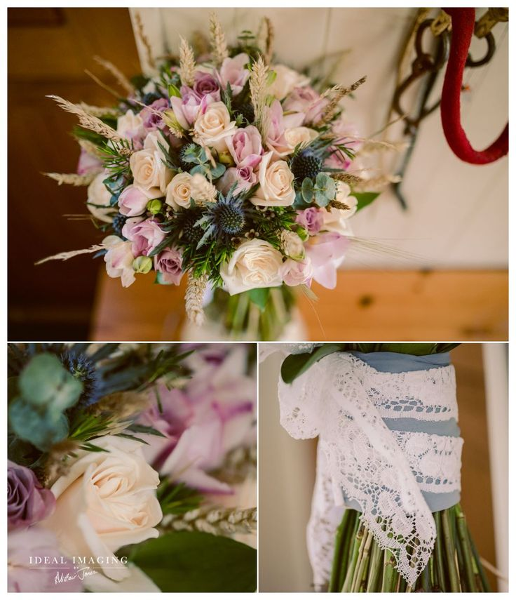 Basing House Wedding Photographer: thistles and roses