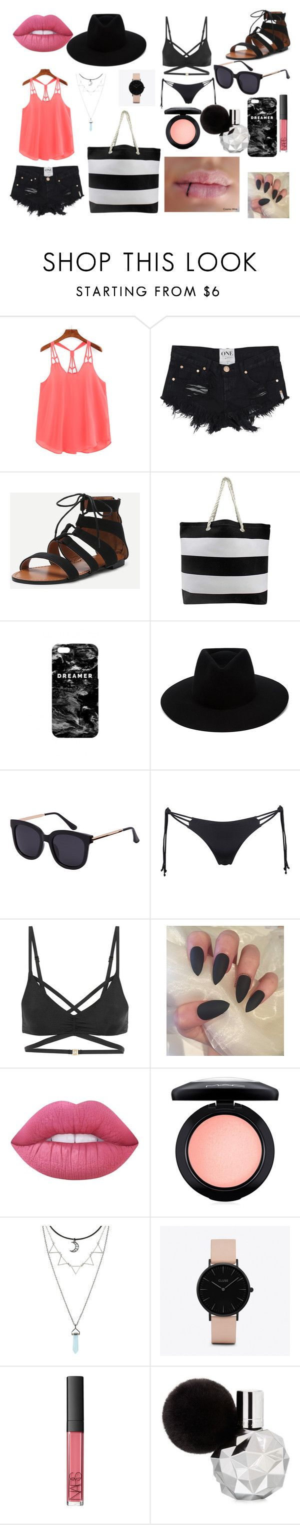 """Da beach Eh eh"" by benhemmings on Polyvore featuring Mr. Gugu & Miss Go, rag & bone, Agent Provocateur, L'Agent By Agent Provocateur, Lime Crime, MAC Cosmetics, CLUSE and NARS Cosmetics"