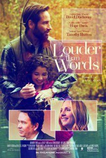 Louder Than Words (2013) After the unexpected death of their daughter, a couple work to build a state of the art children's hospital where families are welcomed into the healing process. David Duchovny, Adelaide Kane, Timothy Hutton...TS family
