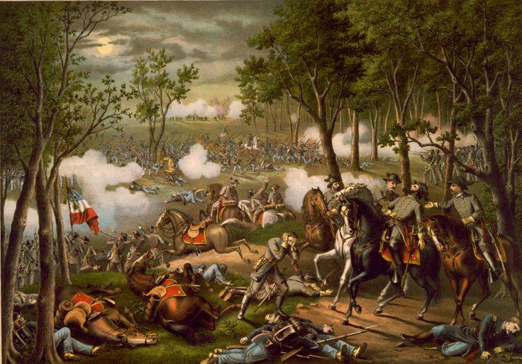 Battle of Chancellorsville - Wikipedia