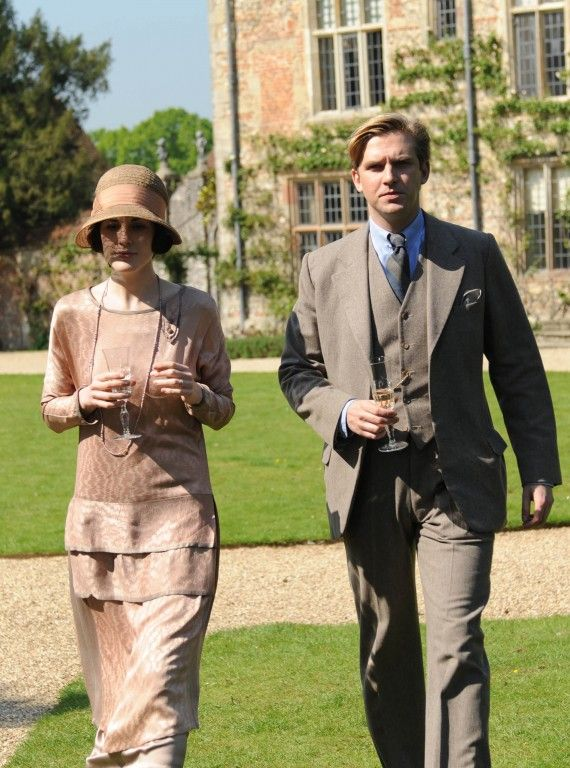 Lady Mary and Matthew - Downton Abbey I like the colors on it and the way I could see myself moving around in it.