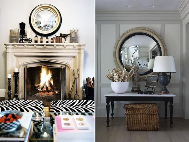 convex mirrors, eagle mirror, eBay, federal mirror, home decor, inspiration, Lonny Magazine, Matchbook Magazine, mirror, Regency Furniture, Sara Gilbane, West Elm