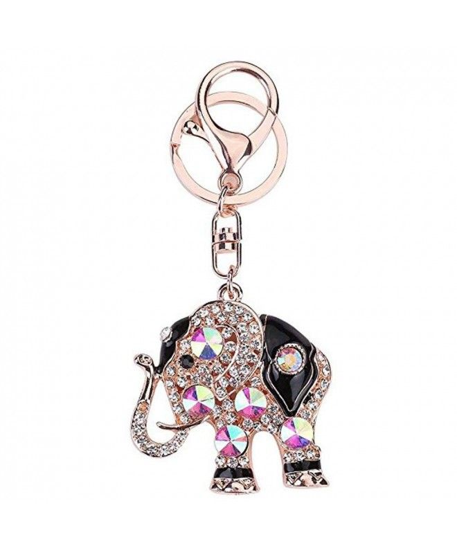 This product is very convenient and easy to off or wear Type  Charm Crystal  Bling Rhinestone Elephant Keychain Cute elephant shape showcases women s ... 7d4ac10f4f