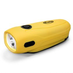 FREEPLAY MINI-SHERPA WIND-UP LED FLASHLIGHT TORCH Our Price £10.00 SRP £18.99 The Freeplay Mini-Sherpa Wind-Up LED Flashlight Torch from Freeplay may be small in size, but it's big on performance. With both self-charge (wind-up) and recharge (via standard USB cable) options, and its non-slip rubber grip, this compact little torch brings light when it is most needed.