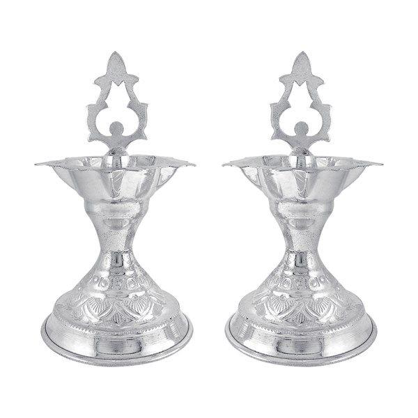 Jpearls Pure Silver Designer Diyas | Silver Articles | Silver Accessories