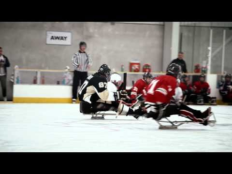 Gotta See: Sidney Crosby Joins NHL Rivals for Unforgettable Sledge Hockey Game - The 412 - January 2015