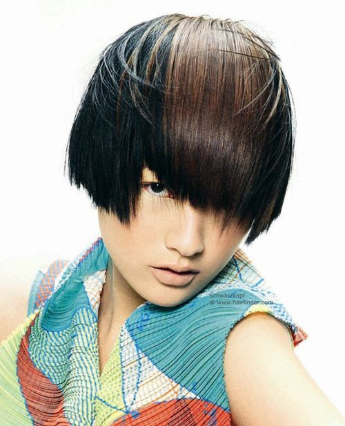 gorgeous asian short hairstyles