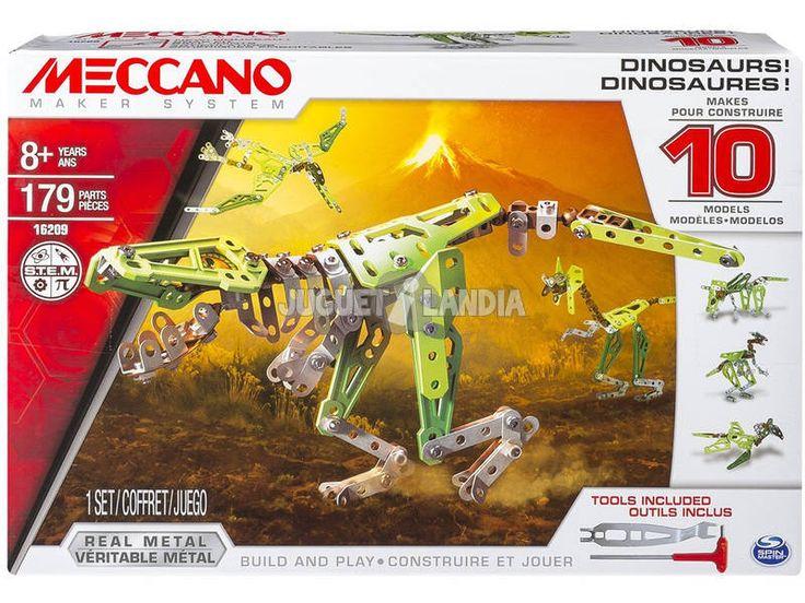 Meccano 10 Multimodel Dinosaurio 35€