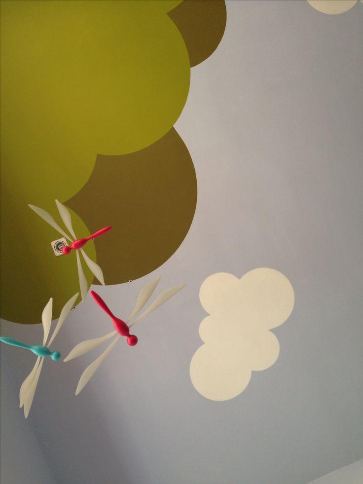 Pintura de habitaci n infantil decoraci n infantil for Cuartos para ninas pintura