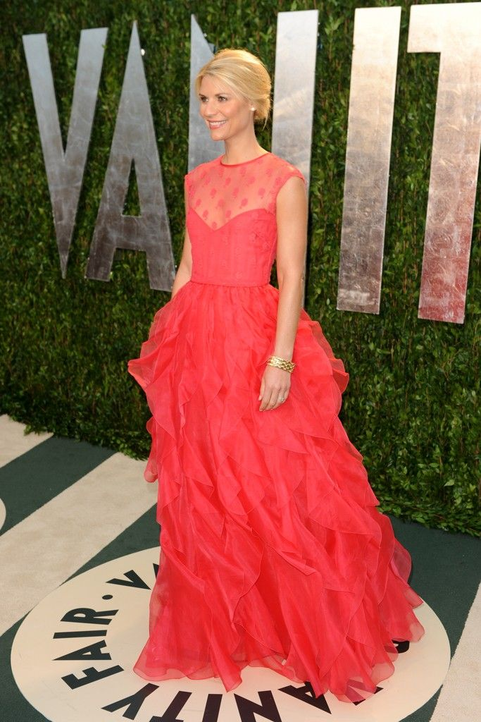 "2012 Emmy Nominations ""ACTRESS  Lead in a Drama Series"" Claire Danes, ""Homeland"" ShowtimeVan Cleef Arpels, 2012 Emmy, Vanities Fair, Vanity Fair, Clear Danes, Fashion Style, Dresses, Red Carpets, Vans Cleef Arpels"