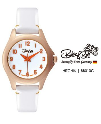 HITCHIN BB010C   | Meterail:316L Stainless Steel  | Movement: MIYOTA 2035  | Case Size: 26mm  | Band Size: 12mm  | Band: Enamel coated Genuine Leather  | Glass: Hardened Mineral Crystal  | Water Resistance : 3 ATM
