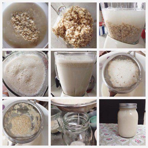 1 taza de avena orgánica integral – si es posible sin gluten 1 cucharada de esencia de vainilla 6-8 tazas de agua pura 1 raja mediana de canela o 1 cucharadita de canela en polvo stevia en polvo (no blanca), al gusto (puede ser también miel de abejas) hielo, al gusto Elaboración el agua de avena:  Poner en remojo la avena por 7 horas Una vez pasado ese tiempo, se cuela la avena, limpiándola además con agua pura para que elimine los antinutrientes e inhibidores de enzimas.......