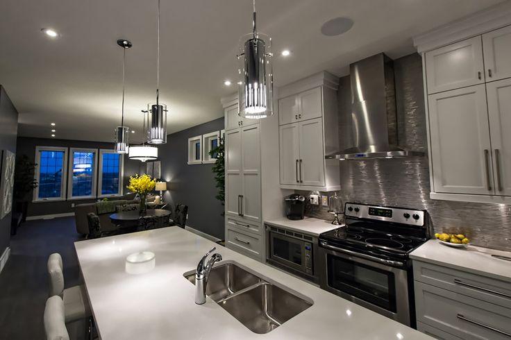 Unique modern pendant island lighting #fresh #clean