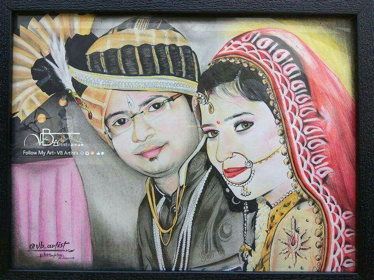 Color Portrait-  Color Pencil used  Duration 4.4hrs Size- a3 sheet