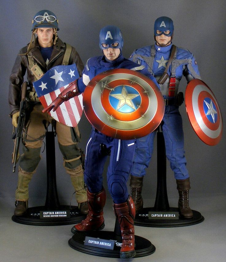 Realistic & cool captain america figures! !