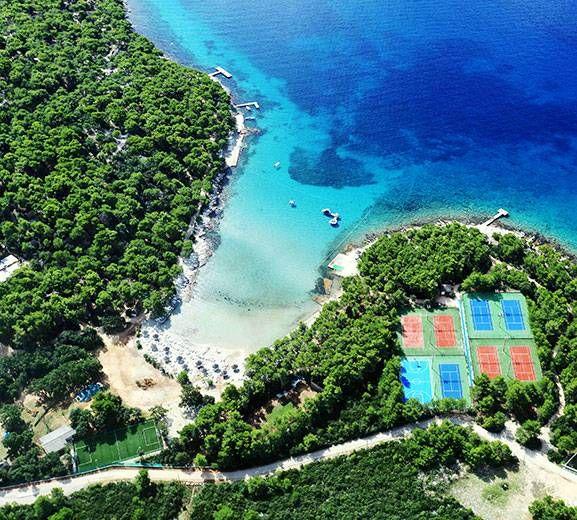 All INCLUSIVE (Alles Inklusiv) Urlaubsort - ferienanlage in Pakostane - sommerferien in Kroatien - robinson tourismus in Dalmatien
