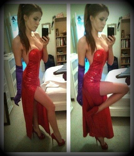 Jessica Rabbit Costume Red Dress Valentine's Day Sweetheart * Order by Feb.10th for Valentine's Day Delivery on Etsy, $289.00