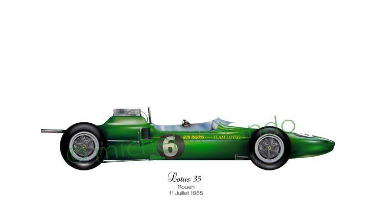 Lotus 35 - Rouen - 1965