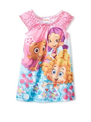 54% OFF Kid's Bubble Guppies Nightgown (Pink)