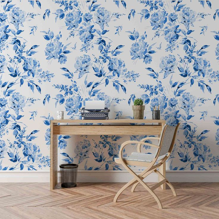 Removable wallpaper by Shop B Darling is a fun and easy