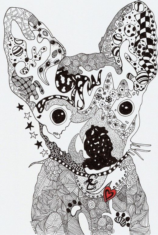 Kathleen S Art Creations Whimsical Zentangle Art On Note