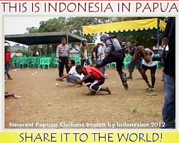 Indonesian impunity in West Papua. How the killers of a 12 year old girl are treated like heroes by the state.