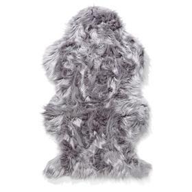Wellington Faux Fur Rug - Grey $19.00