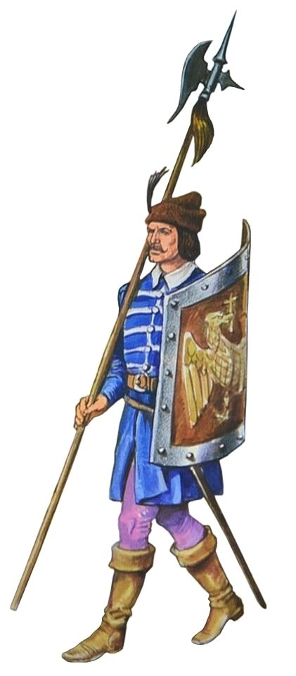 Wallachian soldier, late 16th century