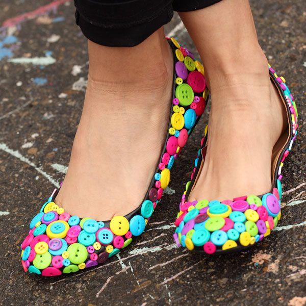 18 Cool and Fun DIY Shoe Makeovers – Glam Radar