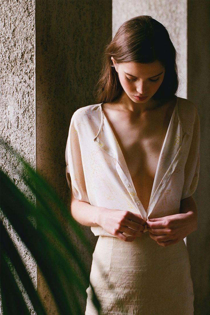 Top Net y falda Marisol