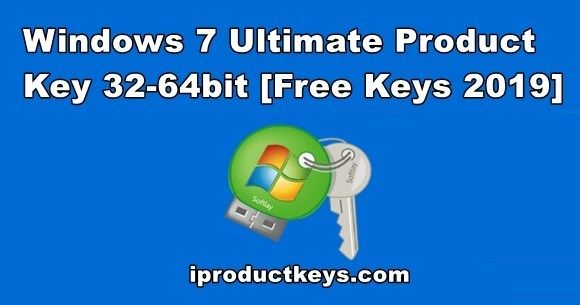 Working 2019 Windows 7 Ultimate Product Key For 32 64bit Free Update Windows Key Connection Speed