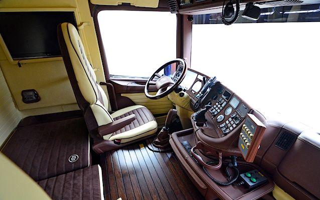 The Hog Ring - Auto Upholstery Community - Carlex Design Scania 164L 580