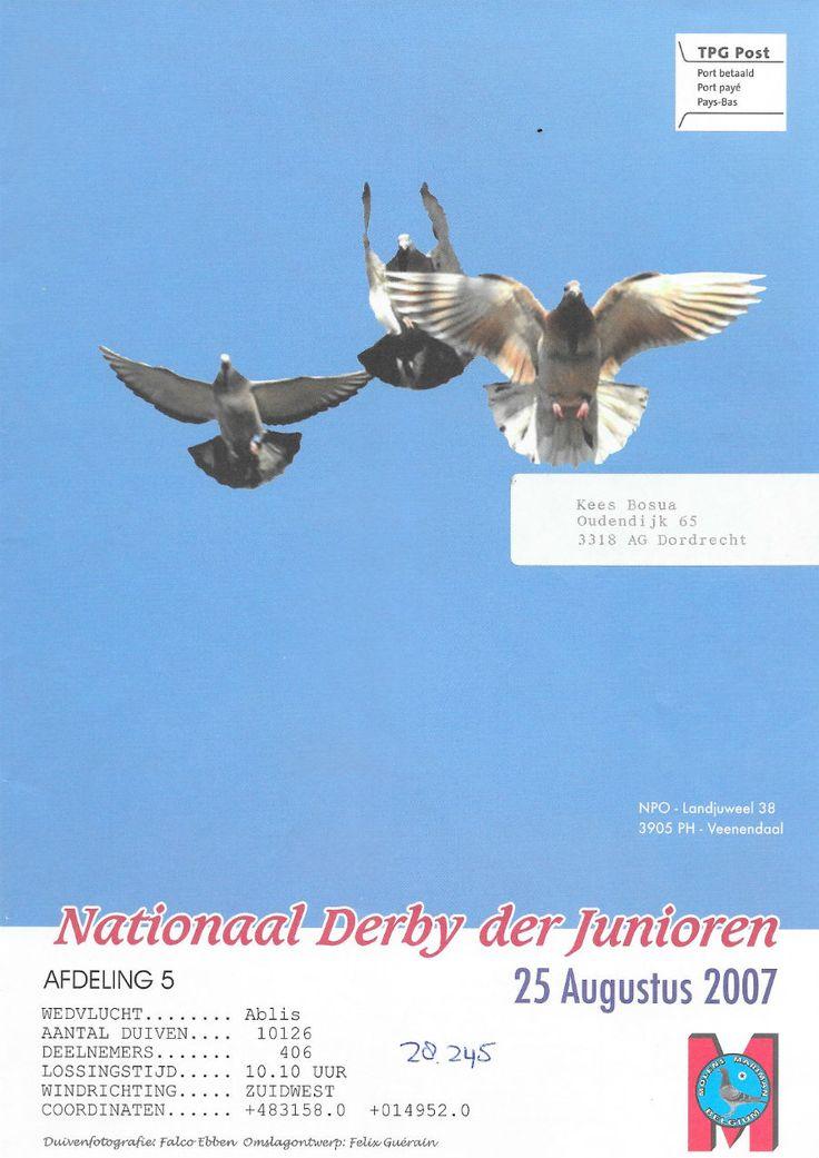 uitslag Ablis 2007 Nationaal | Website Kees Bosua