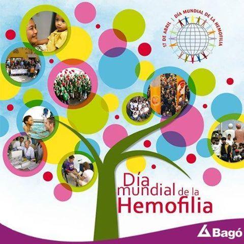 El 17 de abril de cada año se conmemora en todo el mundo el Día Mundial de la Hemofilia con el fin de incrementar la conciencia sobre los trastornos de la coagulación y la necesidad de dar apoyo a las personas que los padecen... http://www.wfh.org/es/whd #SaludyBienestarBagó