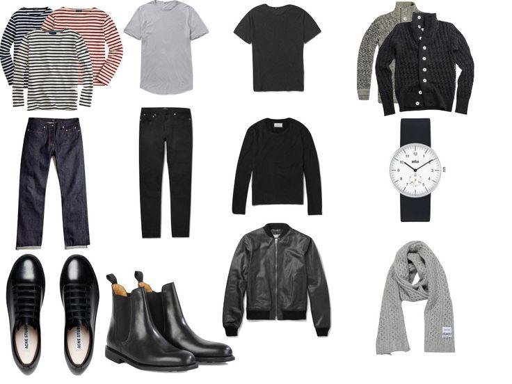 Minimalist Wardrobe Men Capsule Google Search Dad