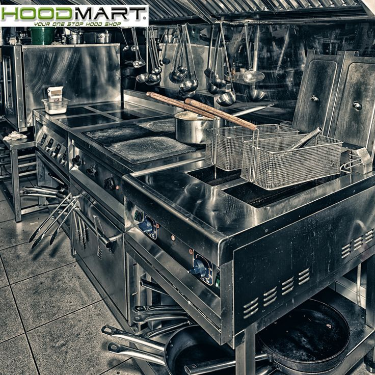 HoodMart offers a full line of kitchen ventilation system packages, Ventless Hood Systems, exhaust and supply fans including direct fired heaters, electrical controls, and fire suppression systems.