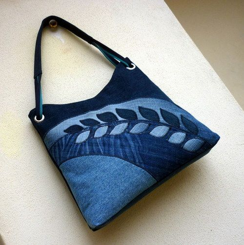 Colección de bolsos de jeans - web Collection of handbags jeans - web