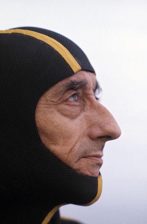 mpdrolet:  Jacques Cousteau, 1972 Philippe Le Tellier  persone...