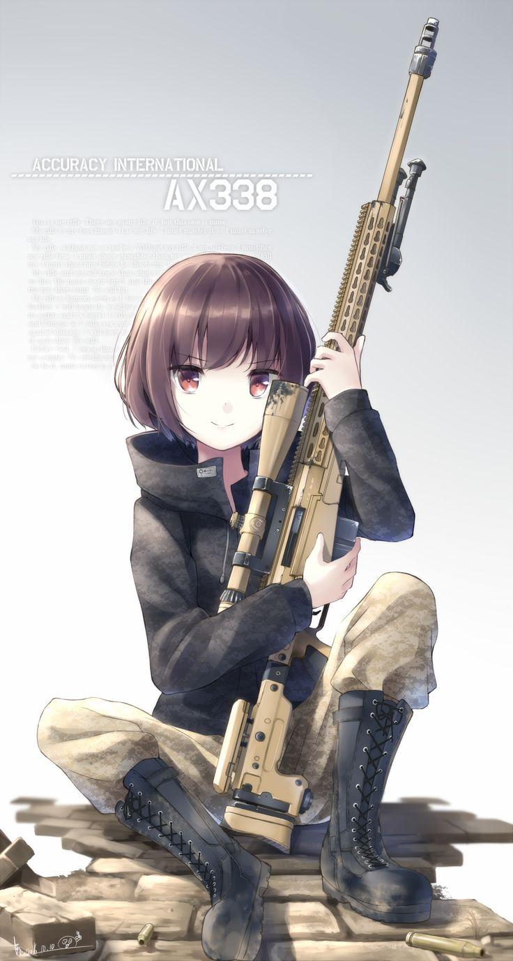 長距離狙撃手