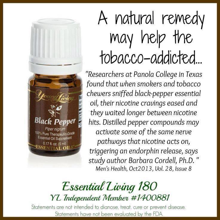 Smoking Cessation Young Living Aceites Essential Oils