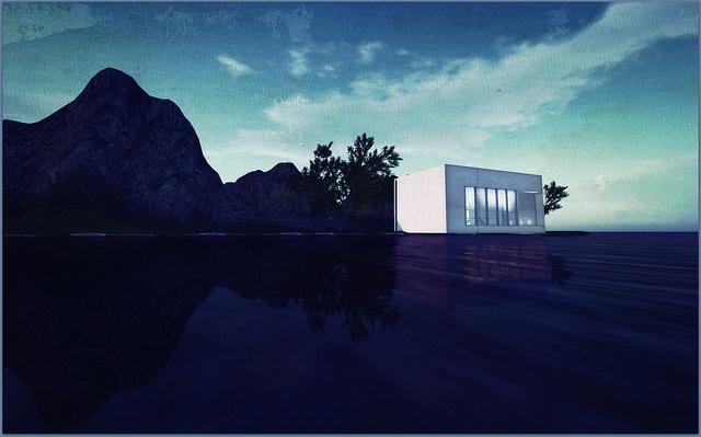 sea house studio by Amona Savira, via Flickr