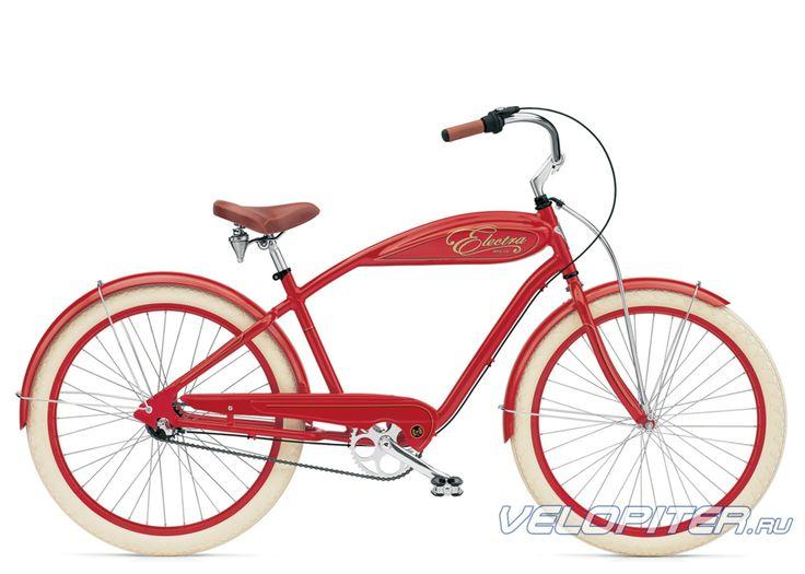 Велосипед Electra Cruiser Indy 3i - купить в Санкт-Петербурге, фото, отзывы. Модель 2010 года