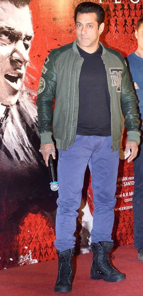 Salman Khan at the 'Jai Ho' first look launch.
