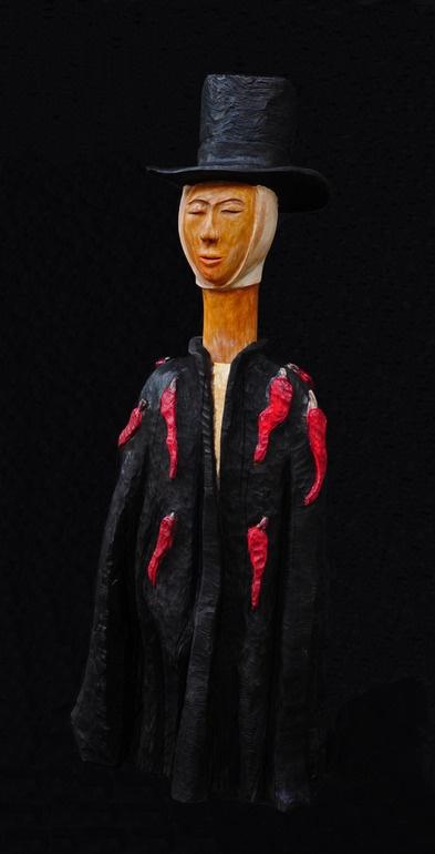 "Saatchi Online Artist: paolo figar; Wood, 2011, Sculpture """"Jambalaya"""""