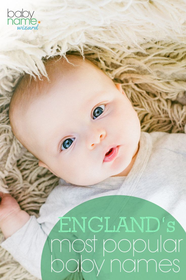 England's Most Popular Baby Names: Some truly gorgeous ...