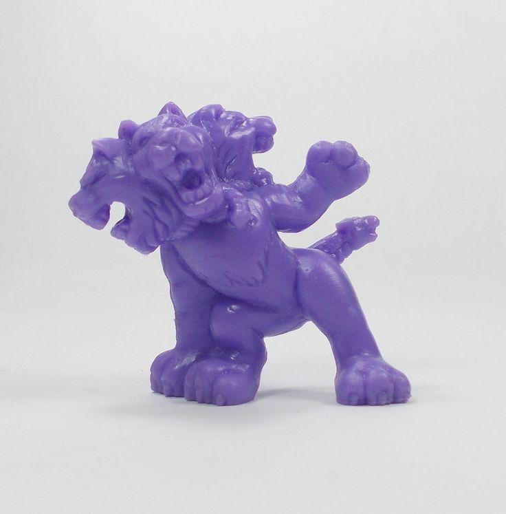 Monster In My Pocket - Series 1 - 28 Cerberus - Purple