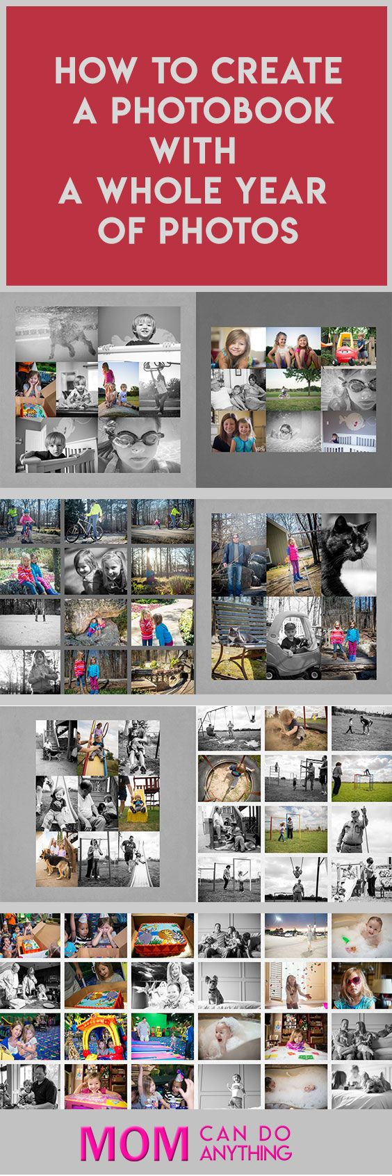 This is a great system for organizing your photos and creating family albums each year.