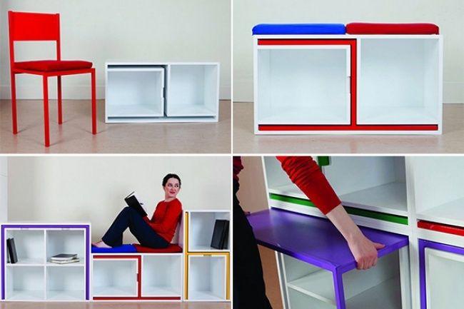 Умный дизайн для маленькой квартиры / Блог им. sveta_levshova / TheDecoPost