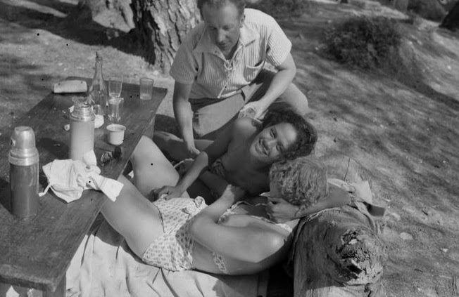Le curieux Monsieur Cocosse | Journal: Cannes / Antibes, Summer, 1937 | Adrienne Fidelin / Man Ray / Lee Miller / Nusch & Paul Éluard